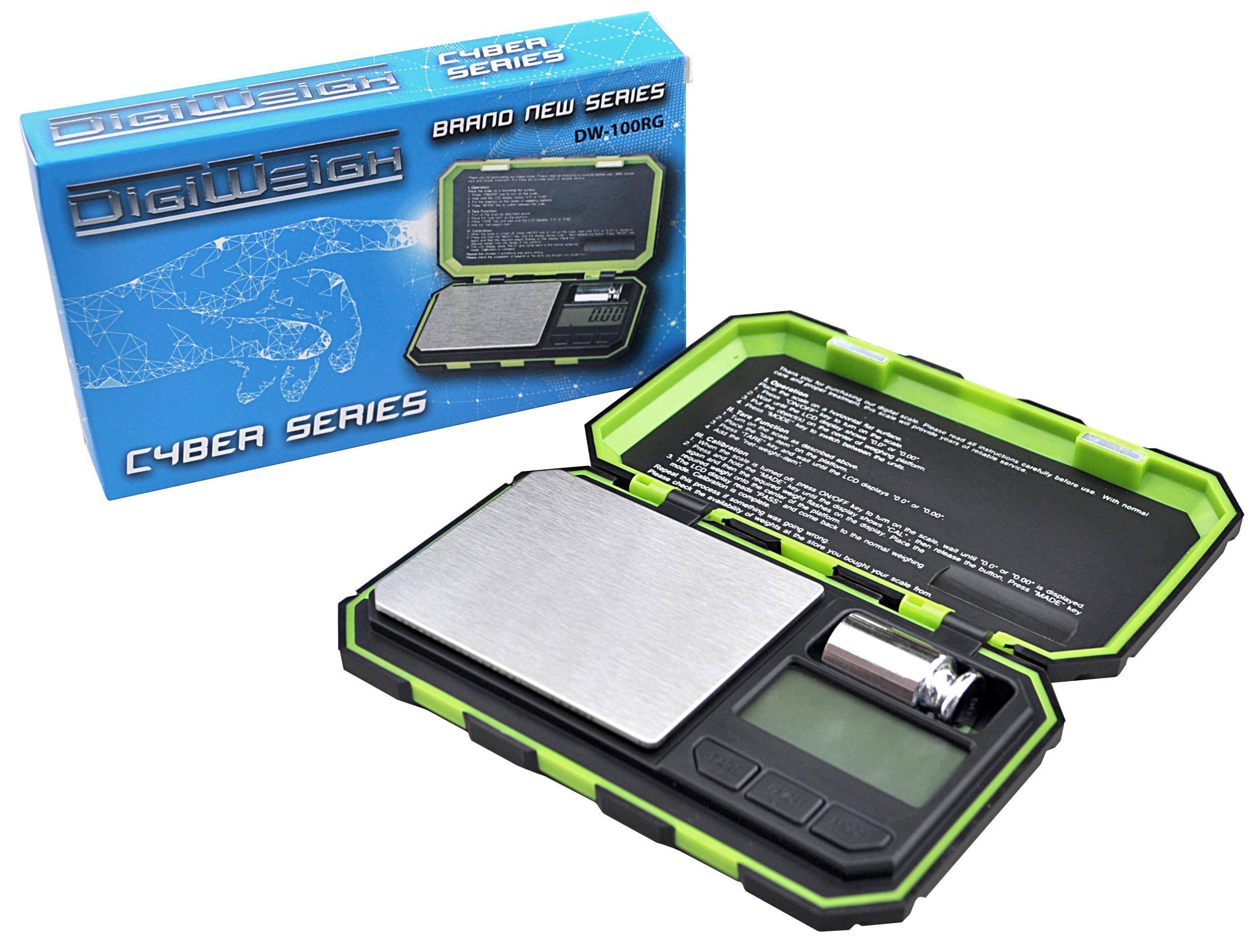 1000g x 0.1g DigiWeigh Digital Scale DW-B Pocket Jewelry